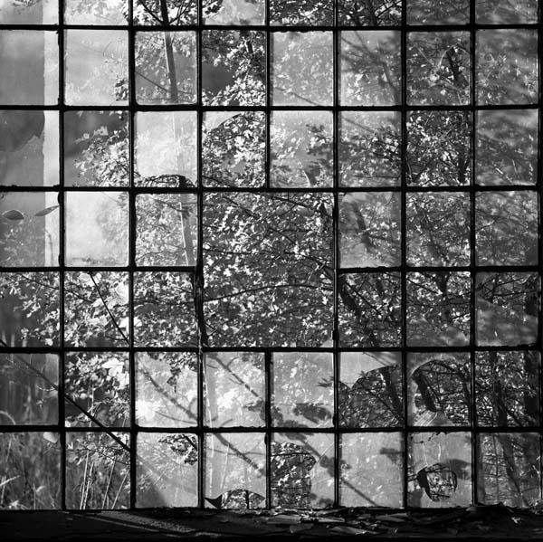 Wiesenburg / Mark - Fenster im Saegewerk, 2001